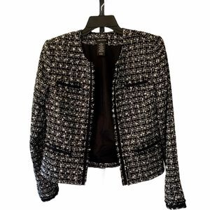 Lord & Taylor Jackie O style jacket size 4
